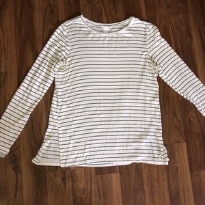 Women's Full Tilt Striped Long Sleeve